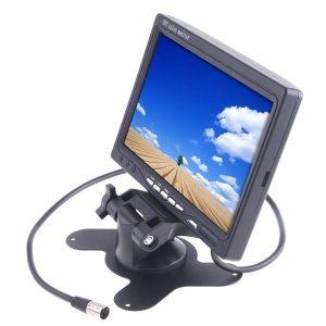 Univerzális 7″ TFT-LCD monitor tolatáshoz