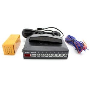 Carguard LCD kijelzős Tolatóradar 8 szenzorral (SP005)