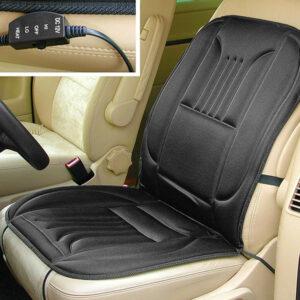 Fűthető autós ülésvédő – szivargyújtó dugóval (55815)