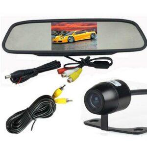 Visszapillantó tükör monitor tolatókamerával