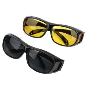 2db-os éjszakai/nappali látásjavító vezetői szemüveg