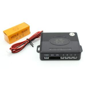 Carguard Vezeték nélküli LCD kijelzős Tolatóradar 4 szenzorral (SP003)