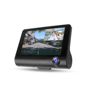 3 Kamerás autós eseményrögzítő és tolatókamera
