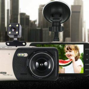 Autós 503cx Full HD eseményrögzítő kamera + hátsó kamera